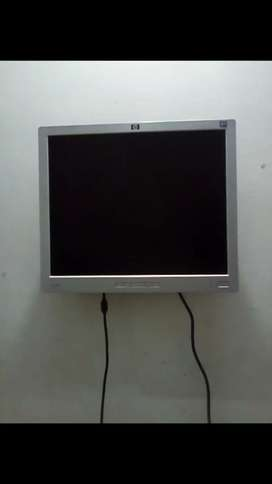 Hp 16 inch lcd monitor with Dany tv device good condition