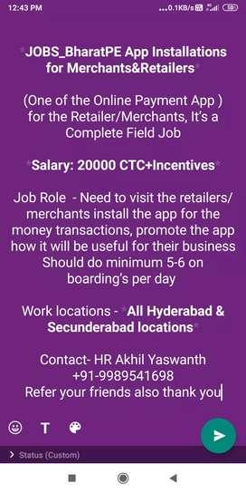 Bharath pe hiring marketing executives