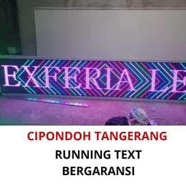 Terima pesanan runningtext, jadwal shalat dan videotron