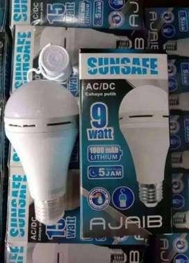 PROMO!! LAMPU EMERGENCY 9W SUNSAFE LUBY LAMPU DARURAT 9WATT PUTIH-OK
