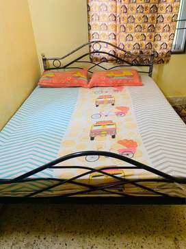Recently purchased bed and cot