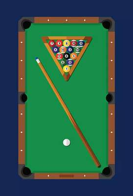 2 Snooker table