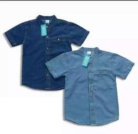 Baju  jeans anak laki-laki usia 5-6 thn