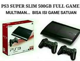 PS3 OFW Super slim 4.84 HDD 500GB
