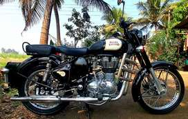 ROYAL ENFIELD BULLET, CLASSIC 350 ,BLACK BUATY