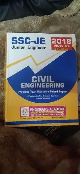 Ssc je civil engineering objective