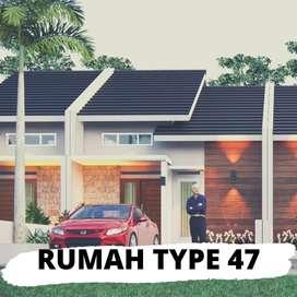rumsh type 47 bisa segera dimiliki dengan lokasi yang asri