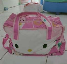 Tas bayi besar pink hellokitty