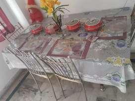 Sofa,daining Table & Tea Table