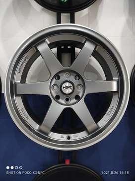 Pelek Racing Murah Mobil Freed Etios Great Ring 17 Pcd 4x100-4x114,3