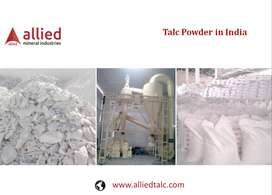 Supplier Manufacturer of Talc Powder Exporter in India Allied Mineral