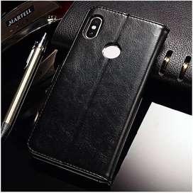 Flip Xiaomi Redmi S2 Wallet Dompet Kulit Leather Cover Case Card Kartu