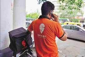 Urgent requirement for swiggy food delivery boys
