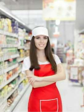 Sales promoter girls