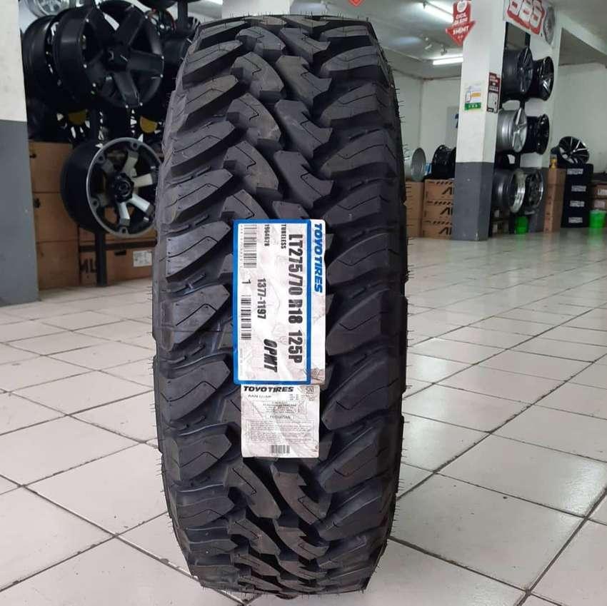 Ban murah Toyo Tires lebar LT 275 70 R18 OPMT Pajero Fortuner 0