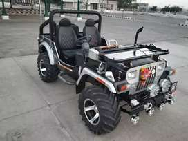 Modified Open Willy Jeeps