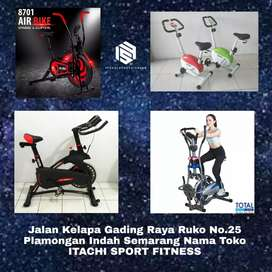 Jual Alat Fitness Sepeda Statis Treadmill Home Gym ( ITACHI FIT  )