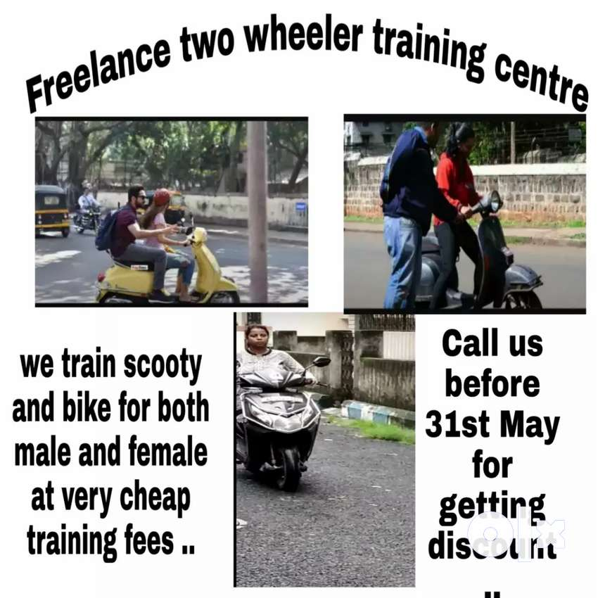 Two wheeler riding training for male and female 0