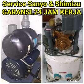AHLI Tukang service Sanyo & Shimizu.GARANSI.24 jam kerja.jujur