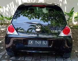 Honda brio manual hitam low kilometer