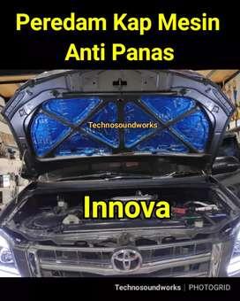 HRV Peredam Anti Panas mobil aluminium foil tolak panas kaca