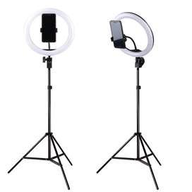 TaffSTUDIOLampu Halo Ring Light LED Selfie 120 LED 10 Inch
