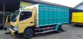 Bak truk tali terpal stenless full kayu baru