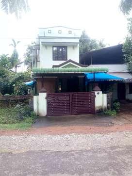 1300 Sq ft House/ 3 Cents/ 3 BHK/47 Lakhs / Olarikkara Thrissur