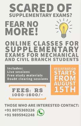 Online Classes for Civil and Mechanical Engineering Students