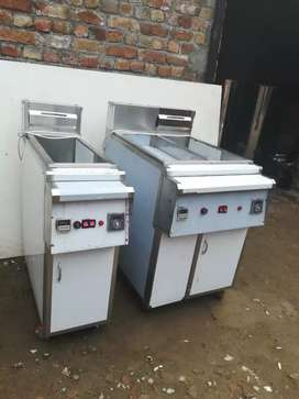 Deep fryer 2 tube with balor Ss body made SB , pizza oven China etc
