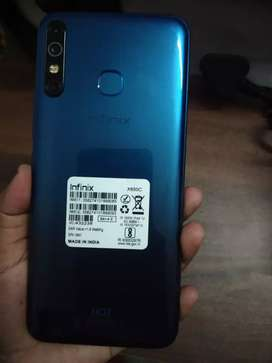 Infinix hot 8(20 days old)quetzal cyan