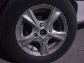 """13"""" Alloy Rims only without tyres keep in mind only alloy rims forsale"""