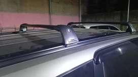 Crossbar jepit roof rail palang rak mobil all new rush