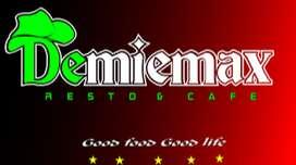 Lowongan Kerja Dermiemax Resto & Cafe