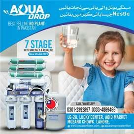 7 stage latest Taiwan Ro water filter plant Eurotech Ro plant for home