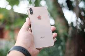 iPhone Xs Max 256GB Gold Mulus
