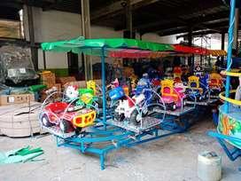 kereta mini panggung odong odong singa genjot pony free DP BARUU 11