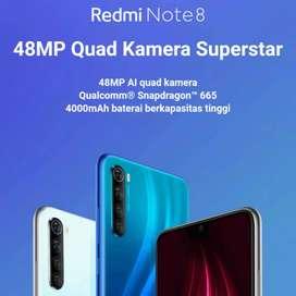 Redmi Note 8 6/128 spaceblack (hitam)
