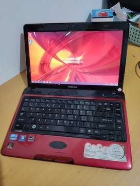 Laptop Gaming Design Toshiba Core i5 Ram6gb + Vga Nvidia Geforce