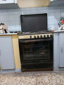 Technogas Heavy Duty Cooking Range(Special Edition) including gas oven