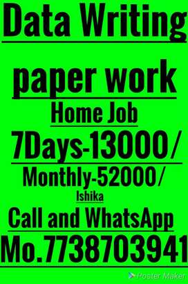 IMMEDIATE REQUIREMENTS FOR WORK FROM HOME