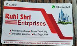 2BHK flat 4th floor with extra 800 square feet for sale