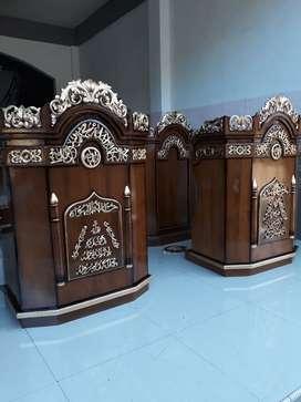 Mimbar masjid as sami jati 29