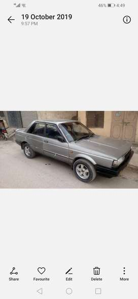 Nissan for sale 86 model