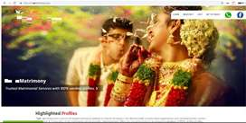 Matrimony website with full option for sale