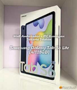 Kredit-Cash SAMSUNG GALAXY TAB S6 LITE 4/128GB RESMI