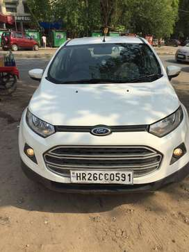 Ford Ecosport White Colour