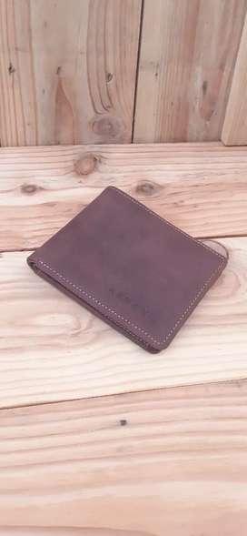 Dompet FULL kulit tanpa kain - handmade ORIginal kulit sapi asli