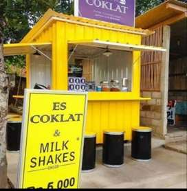 Booth / Stand Container solusi usaha anda