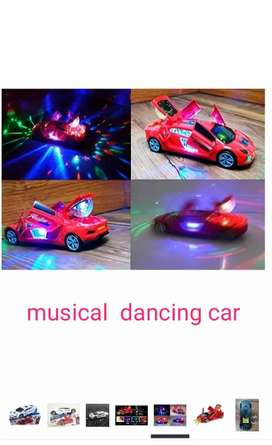 Kids musical car